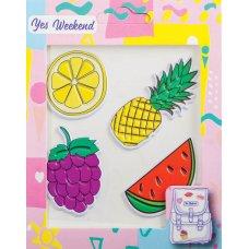 "Набір наклейок YES ""Patch stiker"" ананас, лимон"