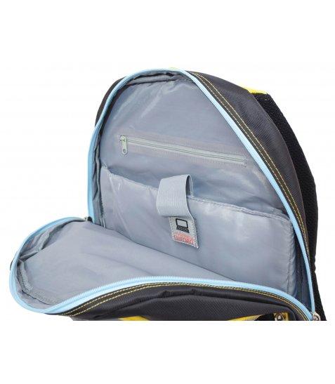 """Рюкзак для підлітків YES  """"Oxford"""" ХО76 чорний, 42*32*18см"""