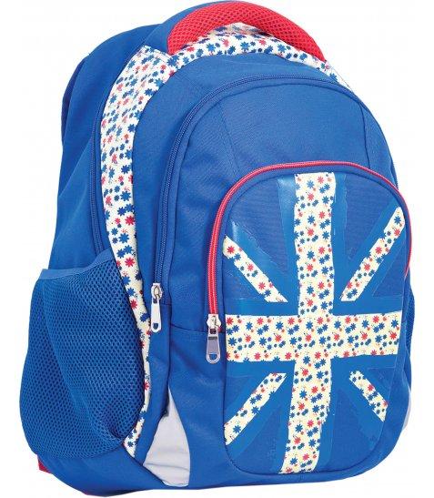 """Рюкзак для підлітків YES  Т-11 """"Britain"""", 44*32*17см"""