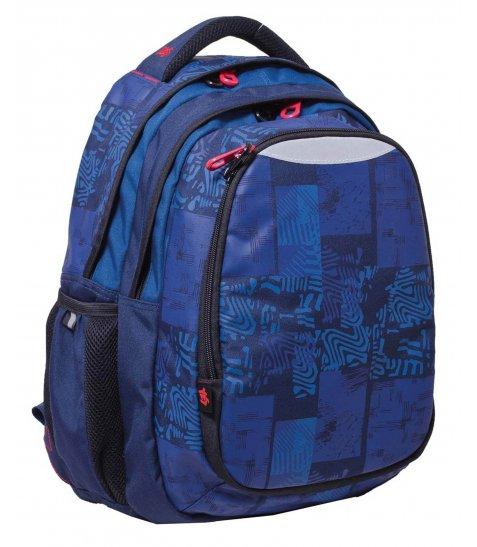 """Рюкзак для підлітків YES  Т-22 """"Indigo"""", 40*34*24см"""