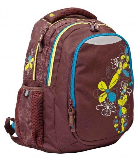 """Рюкзак для підлітків YES  Т-23 """"Flora"""", 42*32*23см"""
