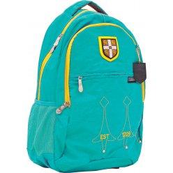 """Рюкзак для підлітків YES  CA060 """"Cambridge"""", бірюзовий, 29*14*46см"""