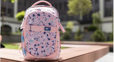Спина дитини під надійним захистом рюкзака з ортопедичною спинкою бренду «YES»